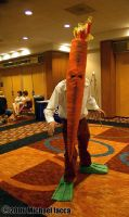 Flaming Carrot 1 by Insane-Pencil