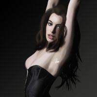 Anne Hathaway 2 by Wild-Theory