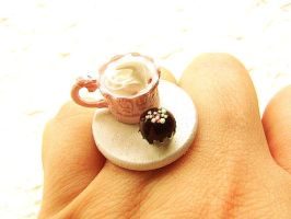 Whipped Cream Candy Ring by souzoucreations