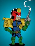 Dredd by rustymuldoon