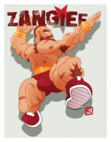Zangief by KaijuKaiser