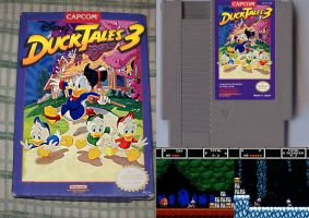 Ducktales 3 NES by UncleLaurence