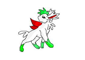 Shaymin Eeveelution-Sky Forme by Avi-the-Avenger