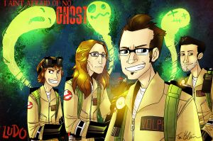 I ain't afraid of no ghost by JackxTessa