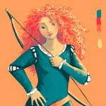 Merida by LucioCrescent