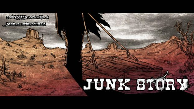 Junk story new cover by Springouille