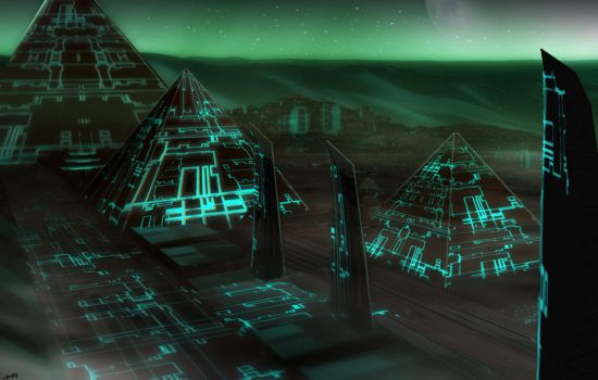 Future Egypt (Temple city of Anubis) by Warstorms