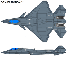 FA-24A TIGERCAT by bagera3005