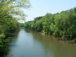 Stock Catawba River 014 by FANARIS