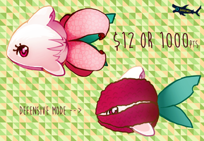 Lychee Shark Adopts [sold] by canned-sardines