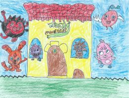 Moshi Monsters Drawing by NickelodeonLover