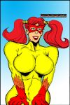 Firestar with Pigtails by brianrobinson