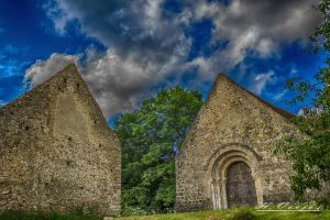 Chapel of St. Pierre Vestige of Prieure de Goult O by hubert61