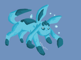 Glaceon by CharcoalShadows