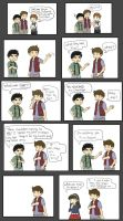 Jealous Blaine Mini Comic by Geminico