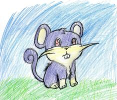 019 - Rattata by pokefan444