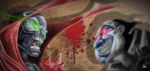 Spawn vs Violator by Vinz-el-Tabanas