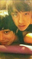 Kyungsoo and Kai Selca by ambieshinee