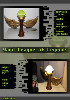 Lamp Ward League of Legends by CanUPrintIt