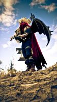 Kingdom Hearts Cloud: The Force of Olympus by LoneWolf117