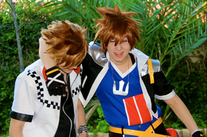 BEST OF FRIENDS ~ Sora and Roxas by OurLivingLegacy