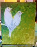 Bee Eaters Wip (background) by NomNomNutella