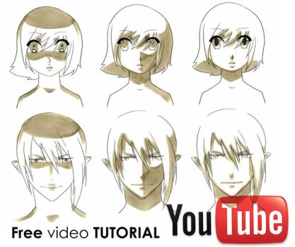 How To Draw Manga: Shading Faces Video Tutorial by Mistiqarts