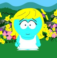 FOR  SMURFETTE123 SMURFS IN SOUTH PARK by MAGANNEAL