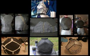 Fate/Stay Night Saber's Breastplate WIP by LookyLolo