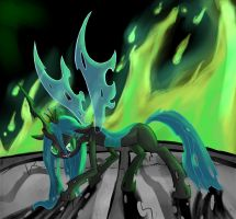 Queen Chrysalis by juanrock
