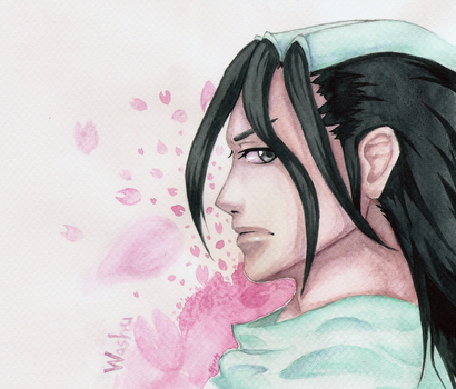 Byakuya for Washu by SstormM