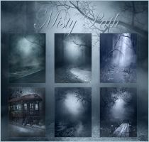 Misty Path mini pack by moonchild-ljilja