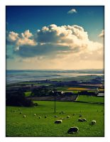 View from Scrabbo Hill... by BELFASTBAP