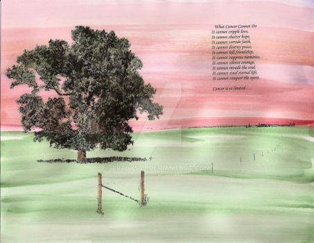 Field with Cancer inspiration by Artbysll