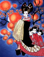 Oiran New Year by aimeekitty