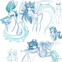 Sketch dump by WaterGleam