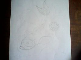 koi fish WIP by groverismypuppy