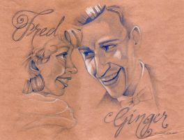fred and ginger by AldoA
