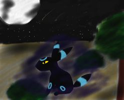 Umbreon: A Night of Solitude by koolkon08