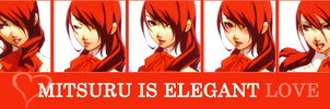 Mitsuru is Elegant Love by Rarutos