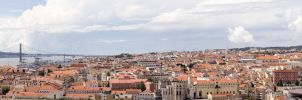 Panorama of Lisbon by MiddleStar