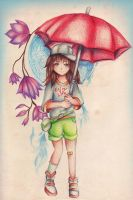 On Rainy Days by Tajii-chan