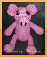 Piggie Plushie! by Romancing-The-Yarn