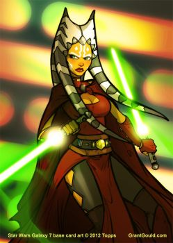 Star Wars Galaxy 7: Future Ahsoka by grantgoboom