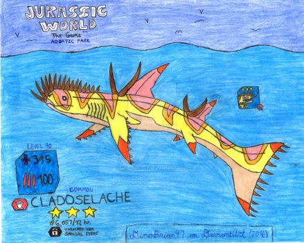 Jurassic World: The Game - Cladoselache! by DinoBrian47