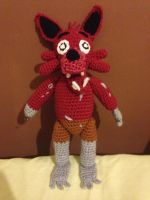 Five Nights at Freddy's Foxy (with pattern!) by CrochetGamer