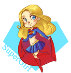supergirl by cici-chi