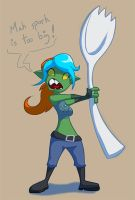 Goblin Whit and her Problems by awittyname