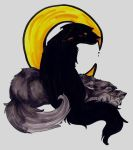 Padfoot and Moony canines by hemachandra
