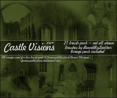 Castle Visions Brushes - PSP by Bound-By-Leather